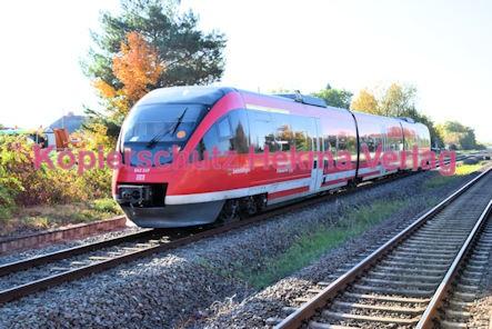 Maikammer/Kirrweiler Eisenbahn - Bahnhof - Zug Siebeldingen - Zug 643 517
