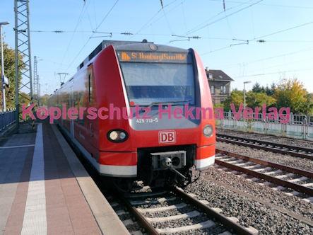 Neustadt Wstr.-Böbig Eisenbahn - Bahnhaltepunkt - S 1 - Zug 425 713-5