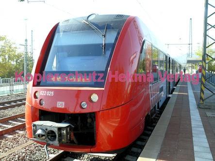 Neustadt Wstr.-Böbig Eisenbahn - Bahnhaltepunkt - RB 45 - Zug 622 025