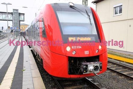 Neustadt Wstr. Eisenbahn - Hauptbahnhof Neustadt - RB 45 - Zug 622 034