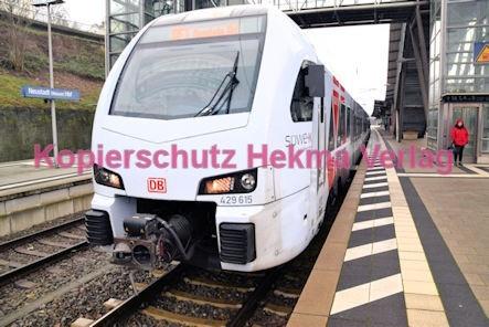 Neustadt Wstr. Eisenbahn - Hauptbahnhof Neustadt - SÜWEX - RF1 - Zug 429 615