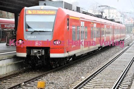 Neustadt Wstr. Eisenbahn - Hauptbahnhof Neustadt - S1 - Zug 425 240-9