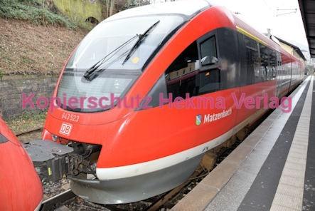 Neustadt Wstr. Eisenbahn - Hauptbahnhof Neustadt - Zug Matzenbach 643 523