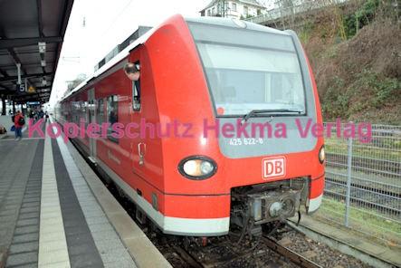 Neustadt Wstr. Eisenbahn - Hauptbahnhof Neustadt - Zug 425 622-8