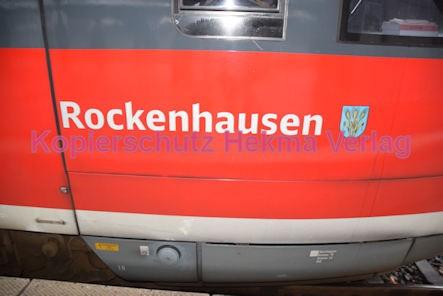 Neustadt Wstr. Eisenbahn - Hauptbahnhof Neustadt - Zug Rockenhausen 642 111