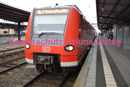 Neustadt Wstr. Eisenbahn - Hauptbahnhof Neustadt - S1 - Zug 425 205-2