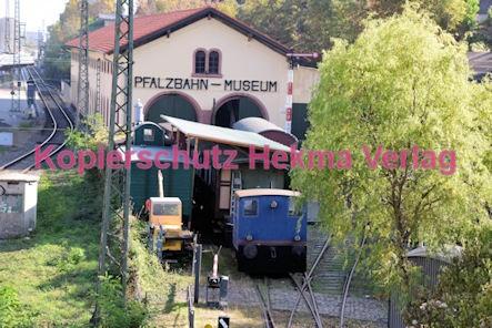 Neustadt Wstr. Eisenbahn - Hauptbahnhof Neustadt - Pfalzbahn-Museum