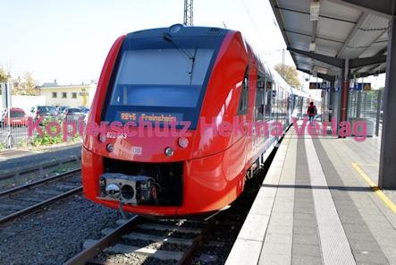 Neustadt Wstr. Eisenbahn - Hauptbahnhof Neustadt - RB 45 - Zug 622 543