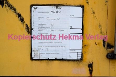 Neustadt Wstr. Eisenbahn - Hauptbahnhof Neustadt - Nebengleis - Lok 702 050-6 - Schild