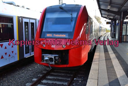 Neustadt Wstr. Eisenbahn - Hauptbahnhof Neustadt - RB 45 - Zug 622 022