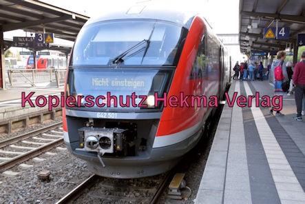Neustadt Wstr. Eisenbahn - Hauptbahnhof Neustadt - Zug 642 501