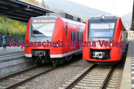 Neustadt Wstr. Eisenbahn - Hauptbahnhof Neustadt - S 1 - Zug 425 740-8 und Zug 622 530
