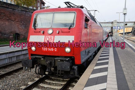 Neustadt Wstr. Eisenbahn - Hauptbahnhof Neustadt - Zug 120 148-2