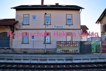 Neustadt Wstr.-Mußbach Eisenbahn - Bahnhofsgebäude