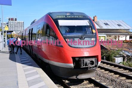 Neustadt Wstr.-Süd Eisenbahn - Bahnhaltepunkt Neustadt-Süd - RB 51 Birkweiler - Zug 643 002