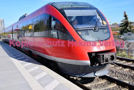 Neustadt Wstr.-Süd Eisenbahn - Bahnhaltepunkt Neustadt-Süd - RB 51 Siebeldingen - Zug 643 517