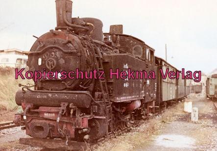 Bottwartalbahn Schmalspur-Eisenbahn - Bahnhof Beilstein - Lok 98 718