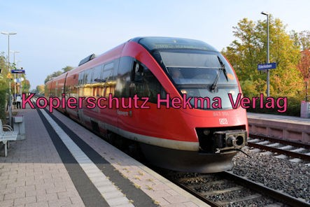 Edenkoben Eisenbahn - Bahnhof Edenkoben - Zug Kapsweyer 643 004