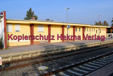 Edenkoben Eisenbahn - Bahnhof Edenkoben - Bahnhofsgebäude