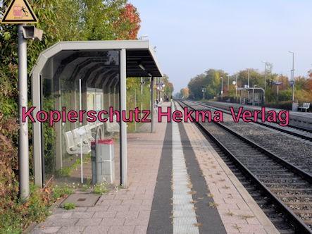Edenkoben Eisenbahn - Bahnhof Edenkoben - Bahnsteig