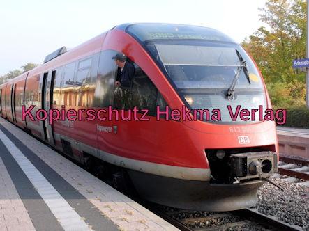 Edenkoben Eisenbahn - Bahnhof Edenkoben - RB52 Zug Kapsweyer 643 004