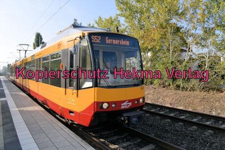 Jockgrim Eisenbahn - Bahnhof Jockgrim - Bahnhof - AVG S52 Zug 866