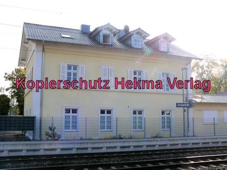 Jockgrim Eisenbahn - Bahnhof Jockgrim - Ehemaliges Bahnhofsgebäude