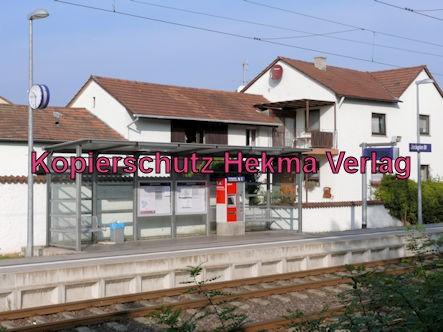 Jockgrim Eisenbahn - Bahnhof Jockgrim - Bahnsteig