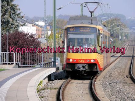 Jockgrim Eisenbahn - Bahnhof Jockgrim - Bahnhof - S51 Zug 849