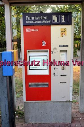 Karlsruhe Straßenbahn - Maximiliansau Im Rüsten - Fahrkartenautomat