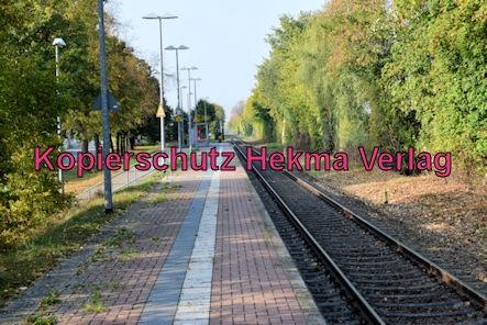 Karlsruhe Straßenbahn - Maximiliansau Im Rüsten - Haltestelle