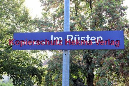 Karlsruhe Straßenbahn - Maximiliansau Im Rüsten - Haltestellenschild