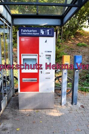 Karlsruhe Straßenbahn - Maximiliansau West - Fahrkartenautomat