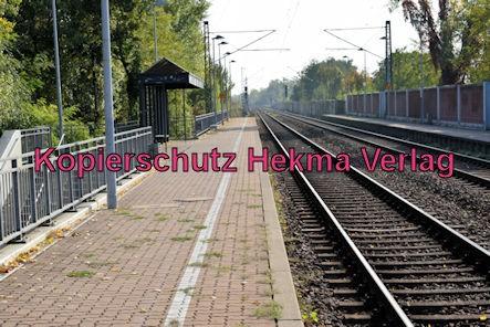 Karlsruhe Straßenbahn - Maximiliansau West - Haltestelle