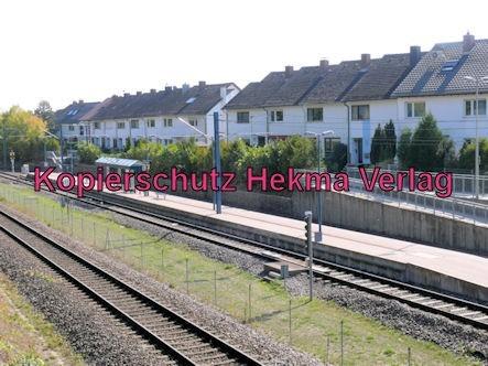 Karlsruhe Straßenbahn - Straßenbahn Wörth - Haltestelle Badepark (Endstation)