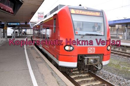 Ludwigshafen Eisenbahn - Hbf. Ludwigshafen - S2 Zug 425 227-6