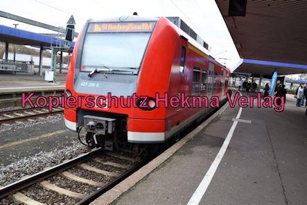 Ludwigshafen Eisenbahn - Hbf. Ludwigshafen - S1 Zug 425 208-6