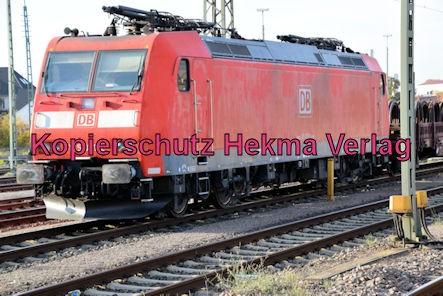 Neustadt Wstr.-Böbig Eisenbahn - Bahnhaltepunkt - Lok 185 031-2