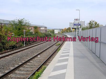 Neustadt Wstr.-Süd Eisenbahn - Bahnhaltepunkt Neustadt-Süd - Bahnsteig