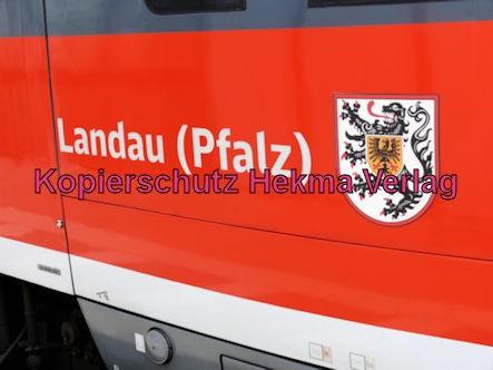 Neustadt Wstr.-Süd Eisenbahn - Bahnhaltepunkt Neustadt-Süd - RB51 Zug Landau (Pfalz) 642 680