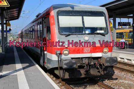Wörth Eisenbahn - Wörth Bahnhof - Zug 628 207