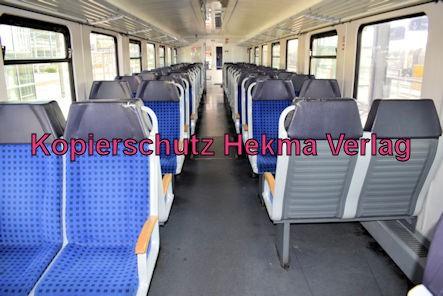 Wörth Eisenbahn - Wörth Bahnhof - Zug 628 207 Innenansicht