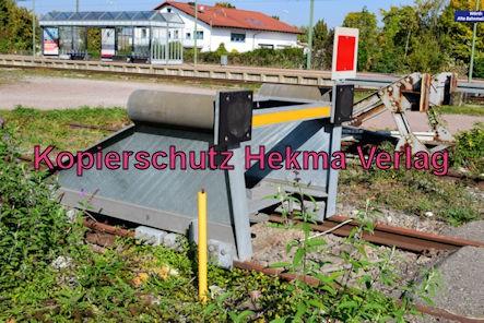 Wörth Eisenbahn - Wörth Haltestelle Alte Bahnmeisterei - Prellbock