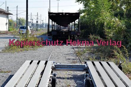 Wörth Eisenbahn - Wörth Haltestelle Alte Bahnmeisterei - Auto-Verlade-Rampe