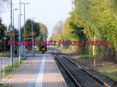 Wörth Eisenbahn - Maximiliansau Haltestelle Im Rüsten - Bahnhaltepunkt