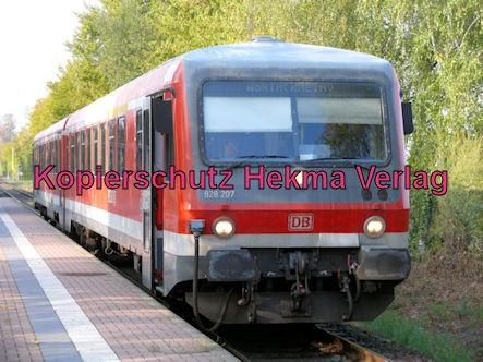 Wörth Eisenbahn - Maximiliansau Haltestelle Im Rüsten - Zug 928 207