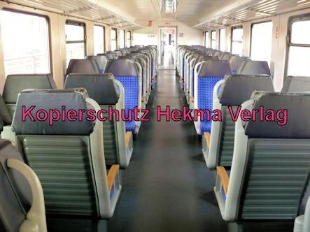 Wörth Eisenbahn - Wörth Bahnhof - Zug 628 207 - Innenansicht