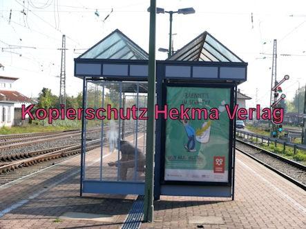 Wörth Eisenbahn - Wörth Alte Bahnmeisterei - Bahnhaltepunkt