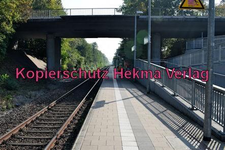 Karlsruhe Straßenbahn - Straßenbahn Wörth - Haltestelle Mozartstraße - Bahnsteig