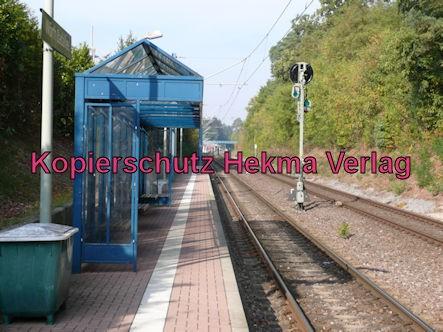 Karlsruhe Straßenbahn - Straßenbahn Wörth - Haltestelle Badallee - Bahnsteig